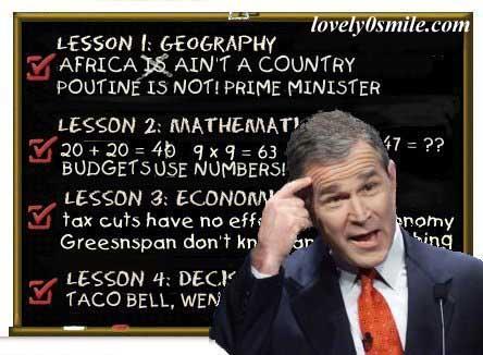 بوش .. والصلعه - صور