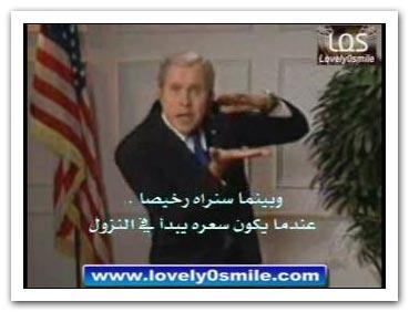 بوش والغباء - فيديو .. مترجم
