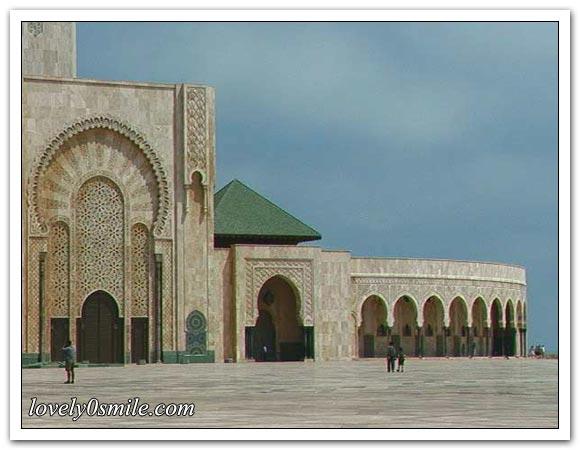 مسجد الحسن الثاني - صور