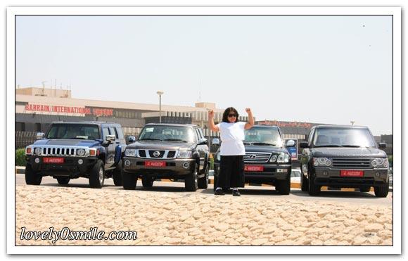 طفلة تفوز بـ 4 سيارات - صور