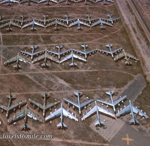 مواقف طائرات - صور