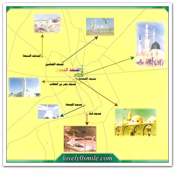 بناء المسجد النبوي الشريف