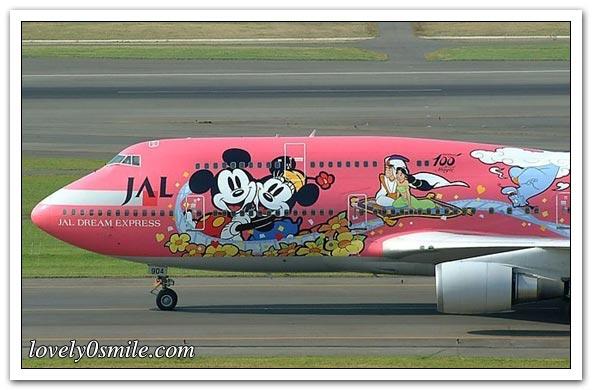 رسومات على طائرات - صور