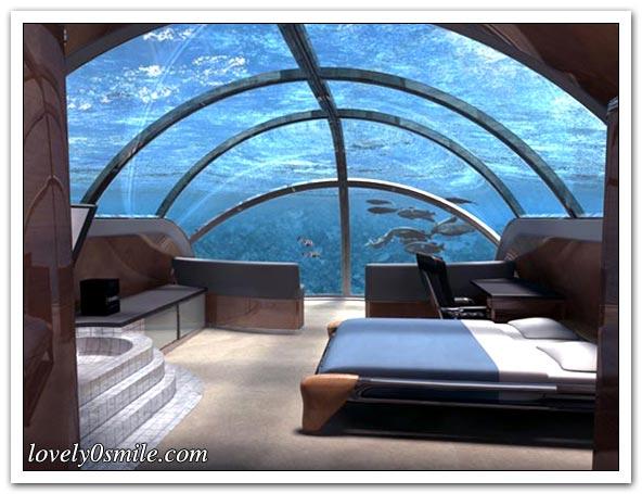أول فندقين في أعماق البحر - صور