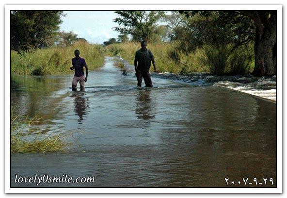 الفيضانات تجتاح مناطق متعددة شمال
