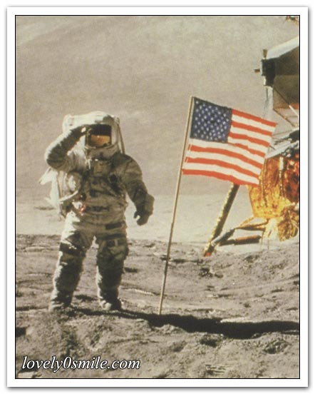 على سطح القمر! - صور