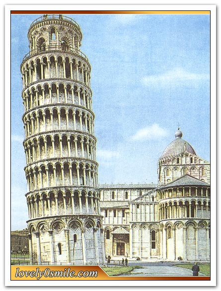 برج بيزا المائل - صور
