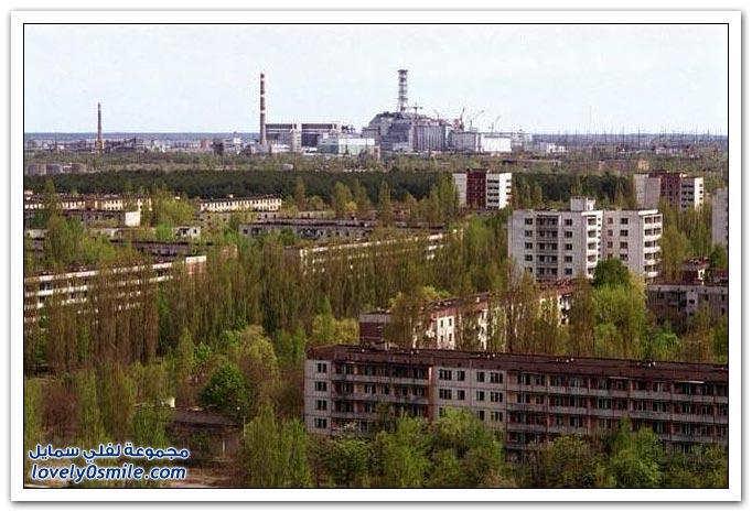 صور لمدينة أشباح في روسيا