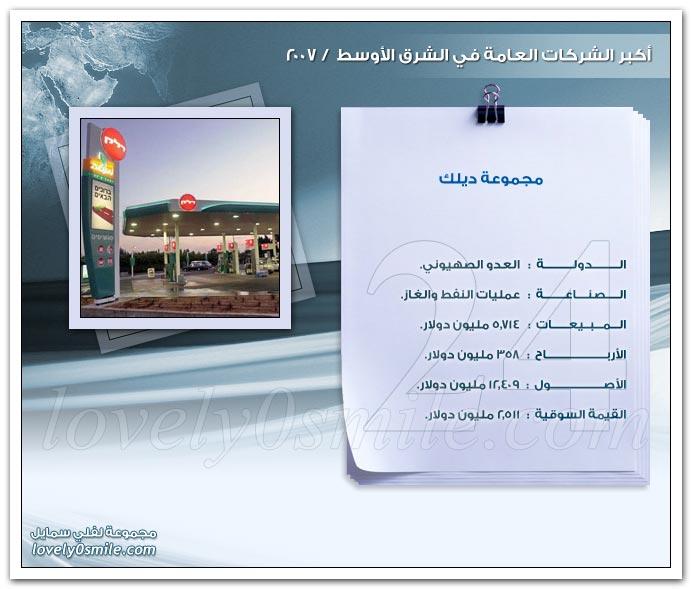 أكبر الشركات العامة في الشرق الأوسط 2007 ج2