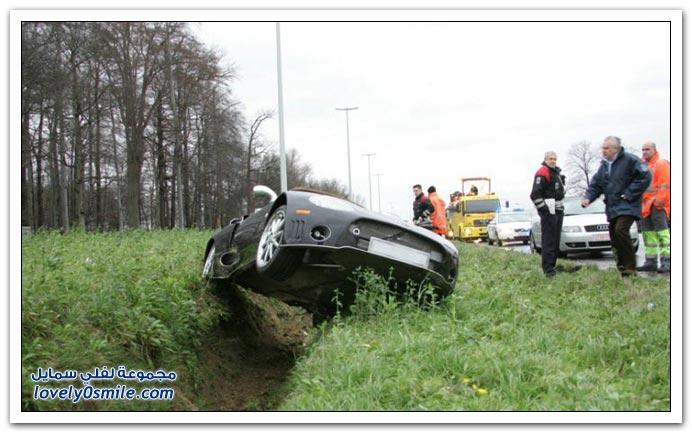 صور حوادث سيارات ج1
