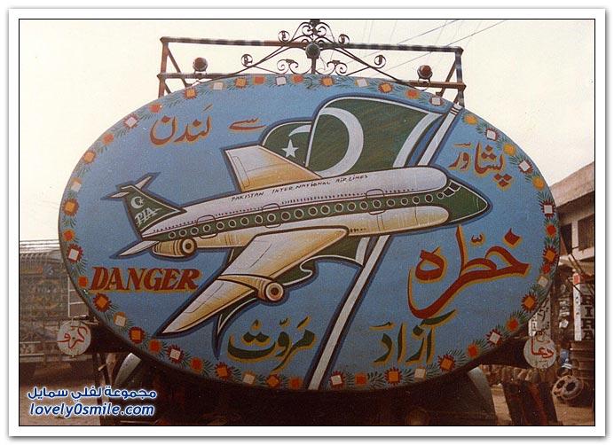 صور شاحنات باكستان