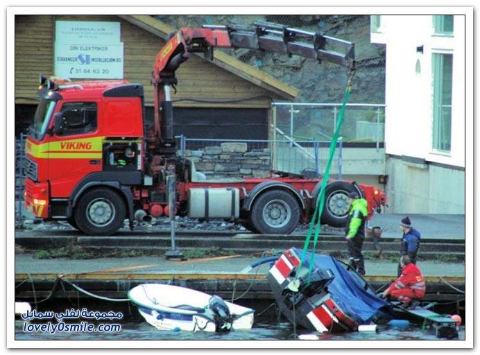 صور سقوط قارب + الفصول الأربعة