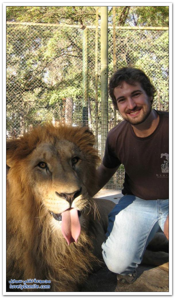 صور من حديقة الحيوان في الأرجنتين