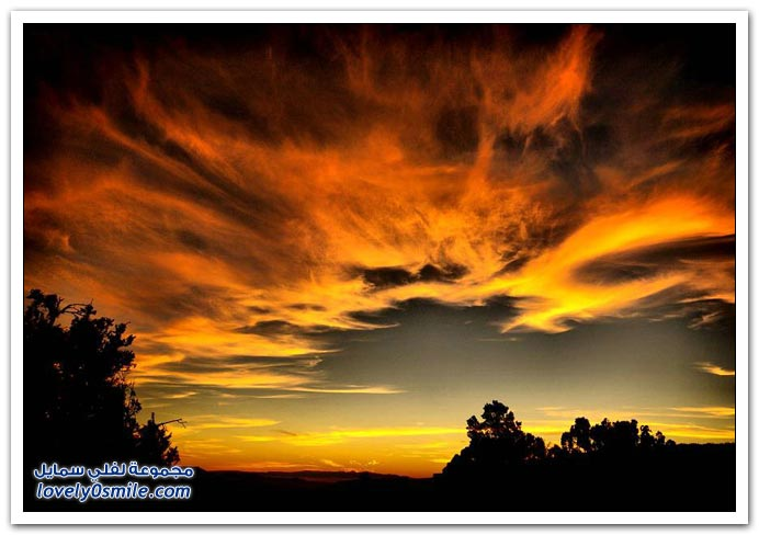 صور مناظر رائعة للسماء ج1