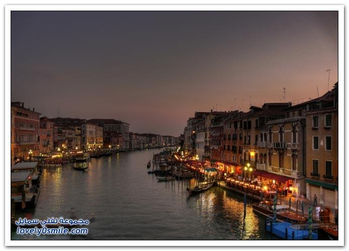 صور لجمال مدينة البندقية