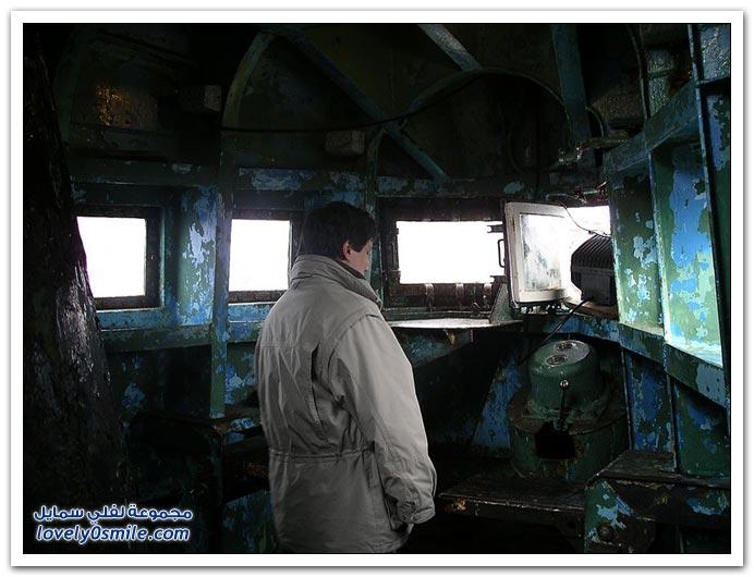صور لغواصة من أيام الإتحاد السوفيتي