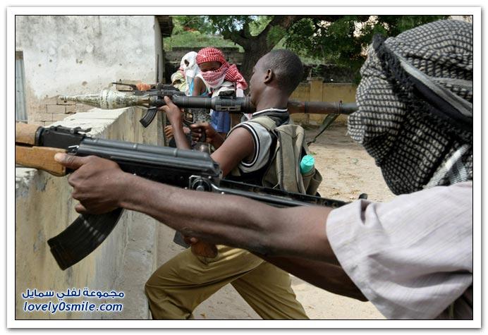صور القتال من أجل السيطرة على الصومال Fighting-Somalia-10