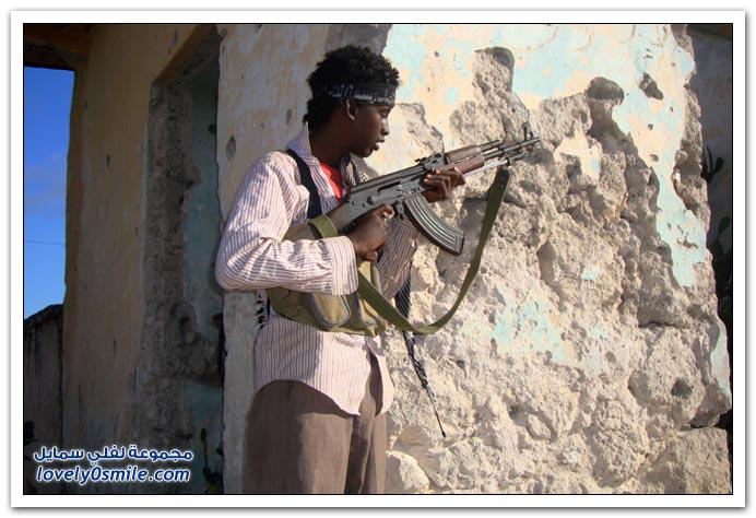صور القتال من أجل السيطرة على الصومال Fighting-Somalia-11