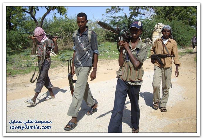 صور القتال من أجل السيطرة على الصومال Fighting-Somalia-17