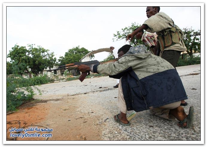 صور القتال من أجل السيطرة على الصومال Fighting-Somalia-20