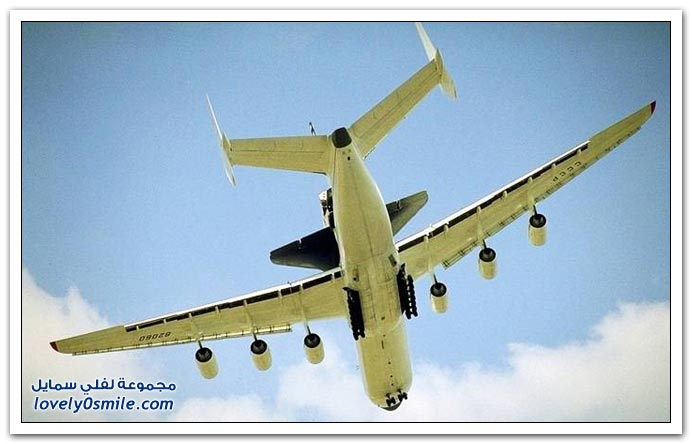 صور أكبر طائرة شحن في العالم من طراز أنتونوف 225
