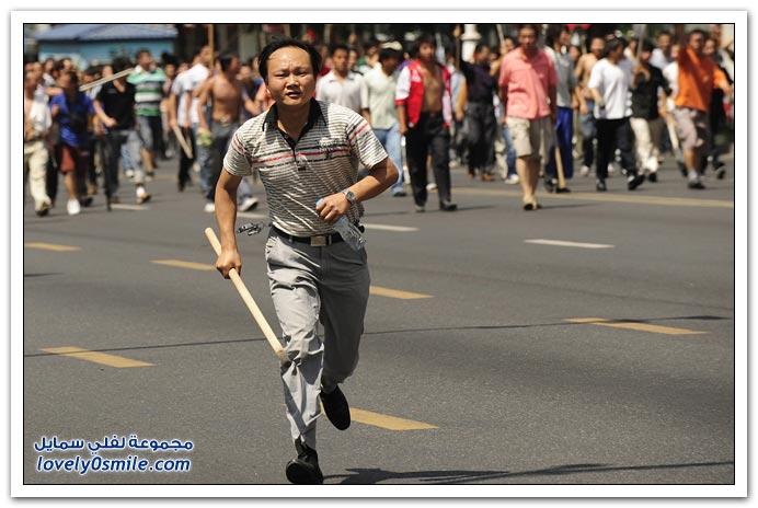 صور: منسيون ومعذبون في اورومتشى الصين