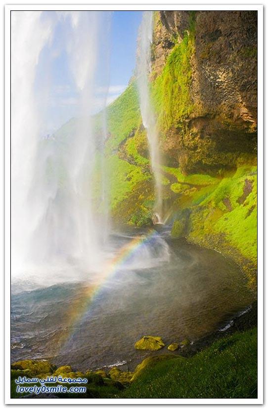 صور لأجمل الشلالات حول العالم