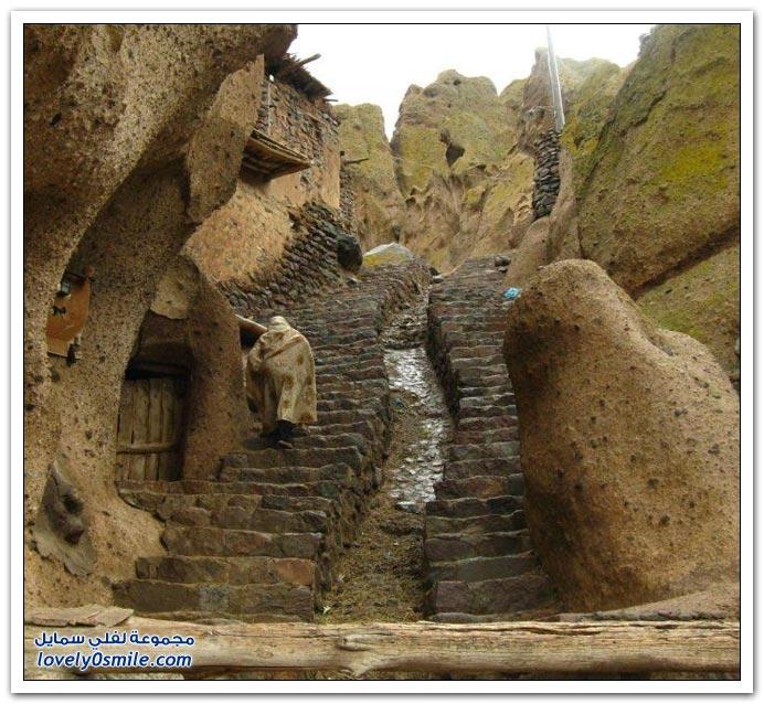 صور لجبال مسكونة في شمال شرق إيران