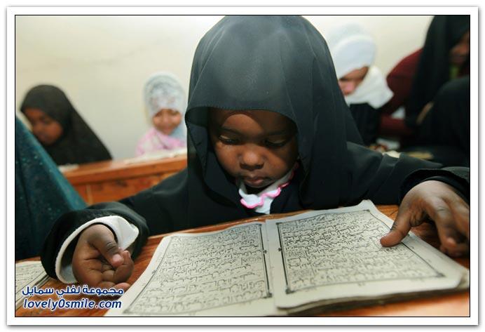 صور من أنحاء العالم لأول أسبوع من رمضان 2009