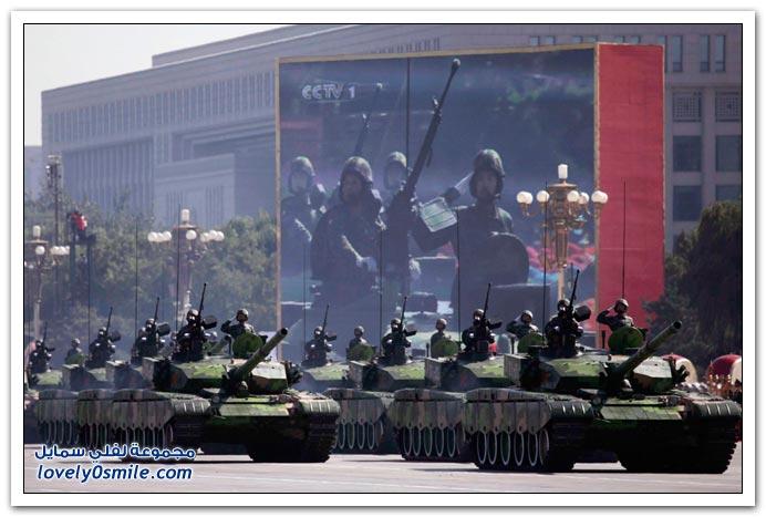 صور من احتفالات الصين بالذكرى 60 لتأسيس جمهورية الصين الشعبية
