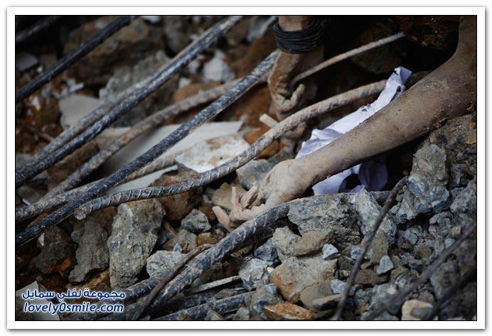 صور من زلزال سومطره في اندونيسيا 2009