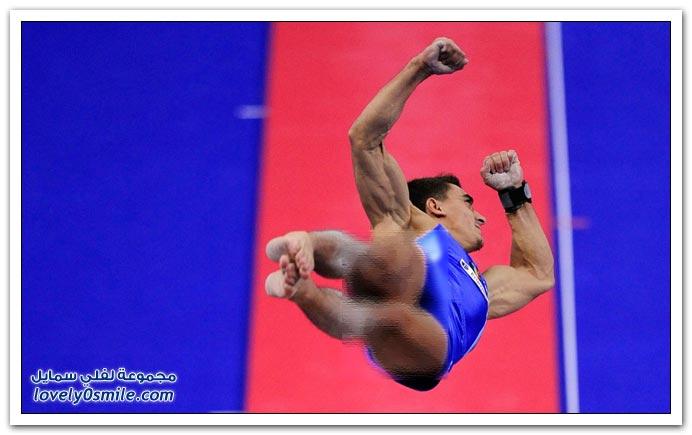 صور من بطولة العالم للجمباز 2009