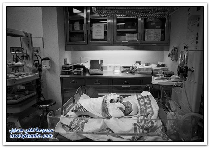 صور لطفل بعد الولادة مباشرة