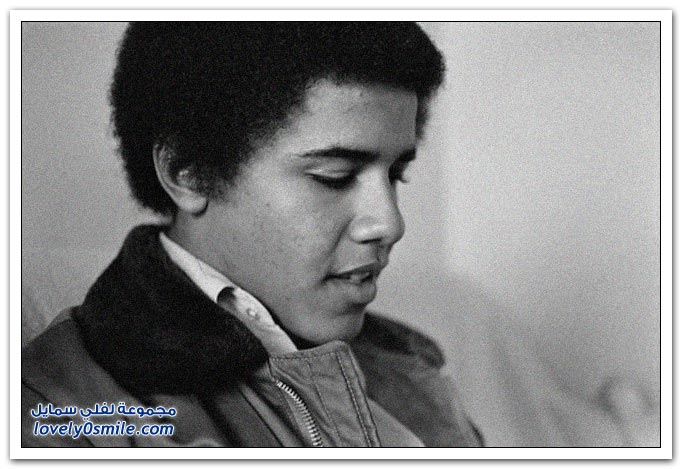 صور باراك أوباما أيام المراهقة