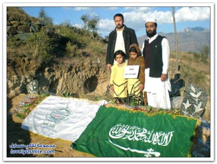 صور: الندوة العالمية تزور عائلة بطل جدة
