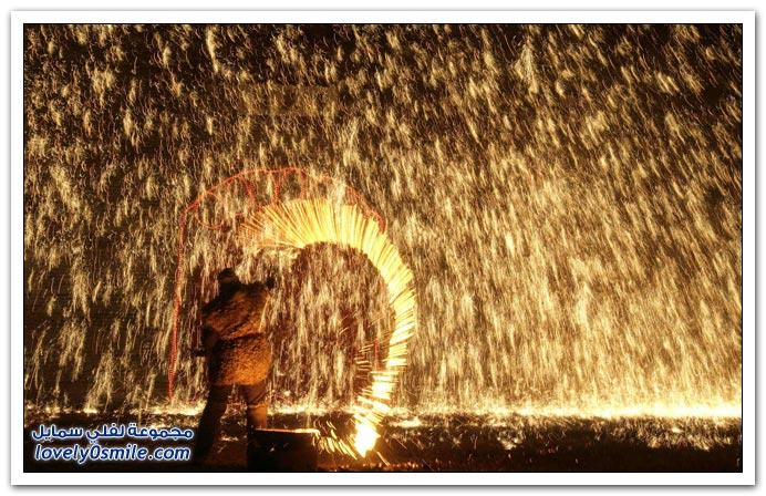صور مهرجان المصابيح في الصين ونهاية مؤسفة