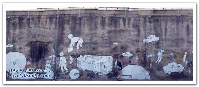 صور: الرسم على الجدران ج2