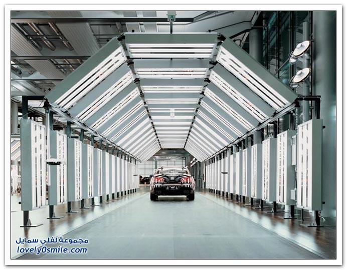 صور: الدقة الألمانية في صناعة السيارات