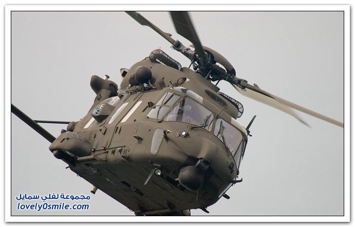 صور سقوط هيلوكوبتر