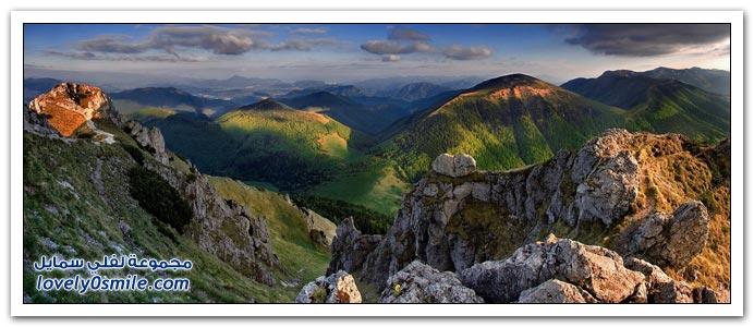 صور جبال ومناظر طبيعية رائعة