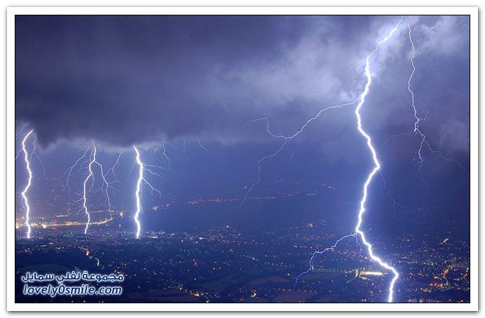 صور البرق والرعد ج3