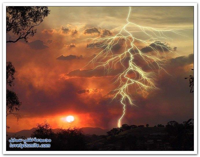 صور البرق والرعد ج4