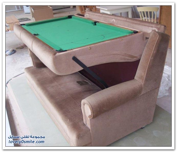صور: يمكن أن يكون كنب أو طاولة سنوكر