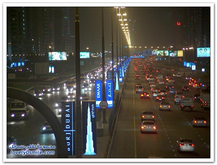 ����� ������ ��� ���� Dubai-At-Night-04.jpg