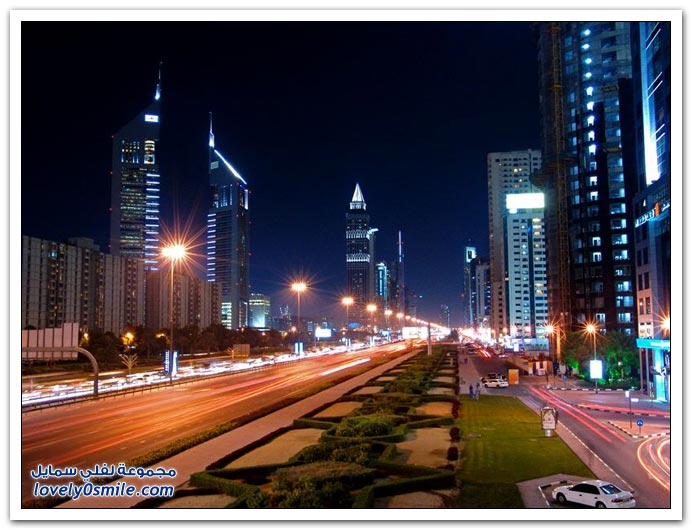 ����� ������ ��� ���� Dubai-At-Night-08.jpg