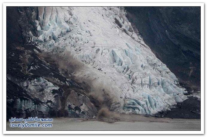 صور من بركان أيسلندا