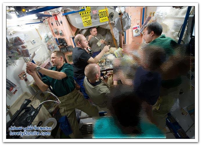 صور رحلة إلى محطة الفضاء الدولية