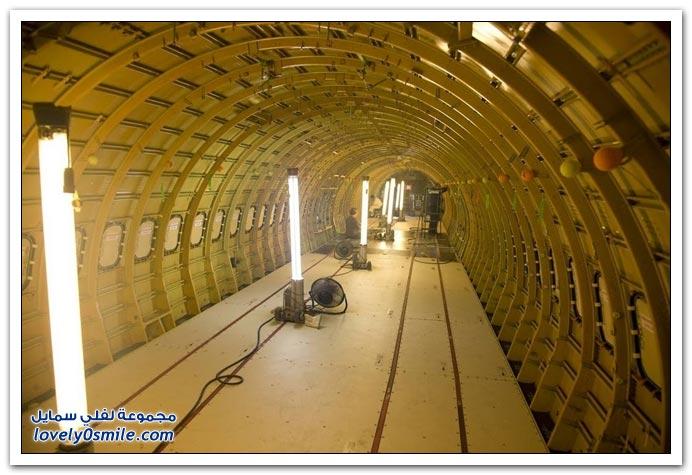 صور من مصنع بوينج 737