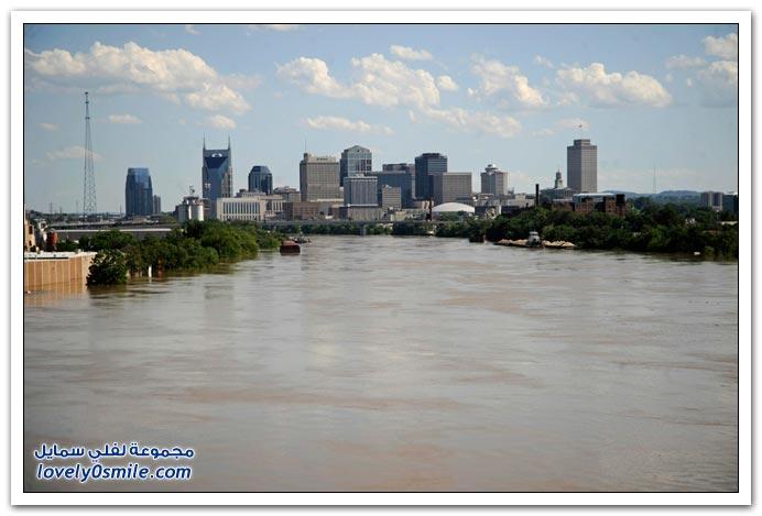 صور فيضانات , إللي يشوف مصيبة غيره تهون عليه مصيبته