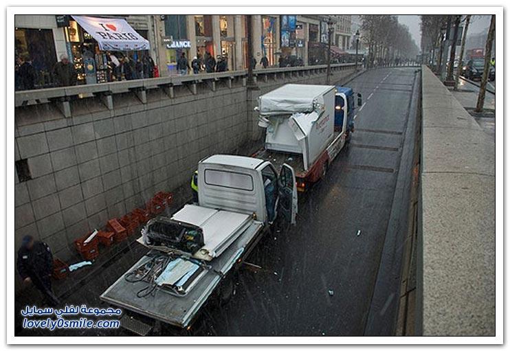 صور: مشاكل الأنفاق في بعض الدول